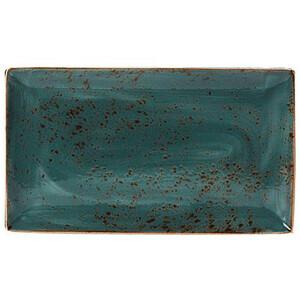 Platte rechteckig 33 x 19cm 1130 Craft Blue Steelite