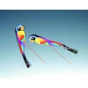 Dekopicker 18 cm Papagei 100 Stück Papstar