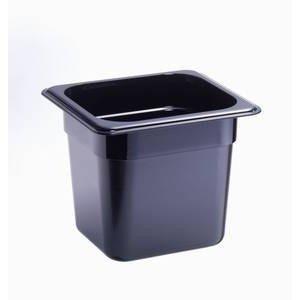 Behälter KU GN 1/6-150 schwarz Cookmax black