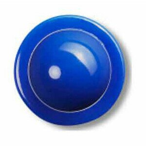 12er Pack Kugelknöpfe blau