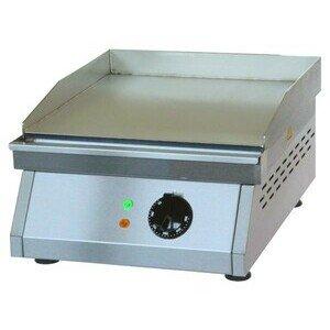Elektro-Grillplatte glatt 400 x 500 x 200 mm 3 kW 230 V Cookmax