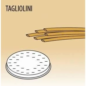 Matrize Tagliolini für Nudelmaschine 516002 und 516003 Cookmax black