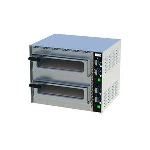 Profi Mini-Pizzaofen2 Pizzen Ø 35 cm 57 x 47 x 45 230 V / 3,4 kW Cookmax orange