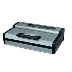 Vakuumiergerät 0,90 m³/h, 400 x 260 x 113 230V / 0,13kW Cookmax black