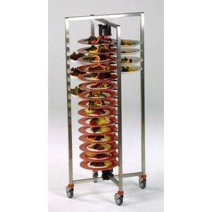 Tellerstapler fahrbar+klappbar Modell PM 60 Z Plate Mate für 60 Teller ADE