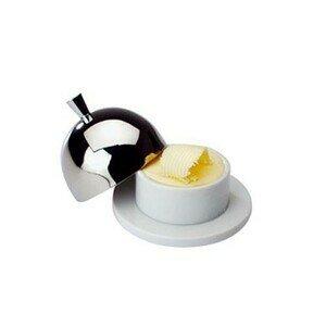 9cm Butterglocke Porzellan / Edelstahl Assheuer & Pott