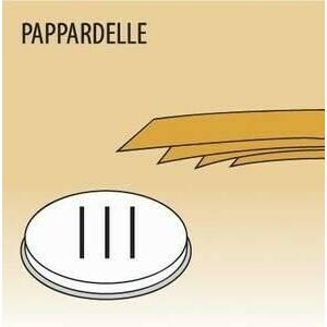 Matrize Pappardelle für Nudelmaschine 516002 und 516003 Cookmax black