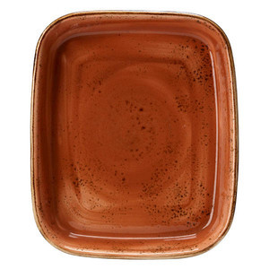Backform rechteckig 30,5x25,5cm 1133 Craft Terracotta Steelite