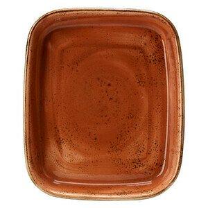 Backform rechteckig 30,5x25,5cm 1133 Craft Terracotta Steelite