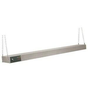 Wärmebrücke mit Kettenaufhängung 45,5 x 15,2 x 6,5 cm 230 V / 0,38 kW Cookmax black