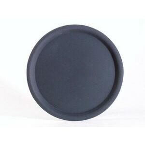 Serviertablett rund 32 cm schwarz Assheuer & Pott