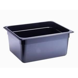 Behälter KU GN 1/2-150 schwarz Cookmax black
