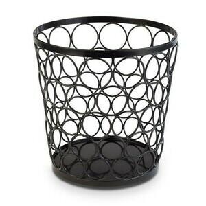Korb / Buffetständer -APS PLUS- 20cm hoch / Metall schwarz Assheuer & Pott